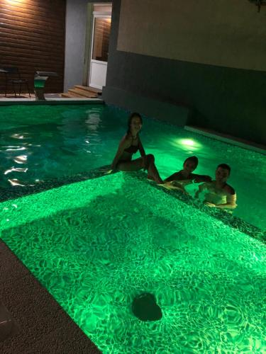 The swimming pool at or near Guest House Parentes