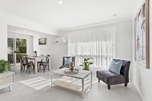 A seating area at Rocky Point Road, Fingal Retreat, 01, 138