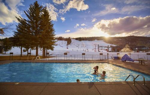 The swimming pool at or near The Inn at Aspen