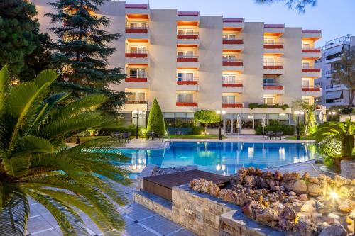 Πισίνα στο ή κοντά στο Oasis Hotel Apartments