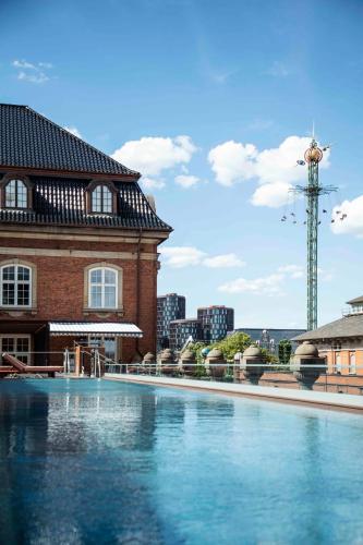 Poolen vid eller i närheten av Villa Copenhagen