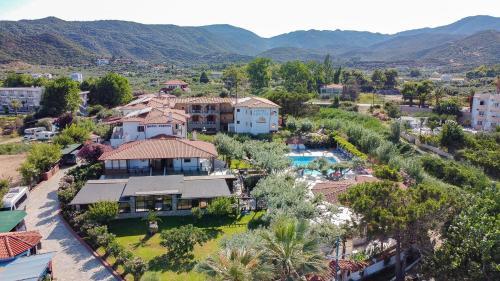 Vue panoramique sur l'établissement Hotel Pontos