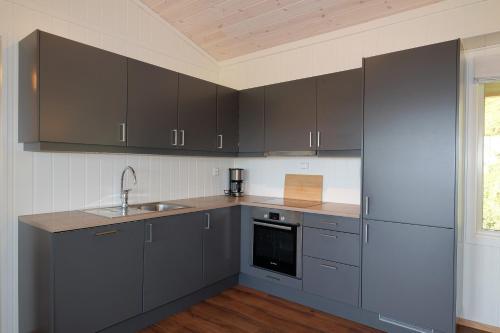 Kjøkken eller kjøkkenkrok på Voss Resort Bavallstunet
