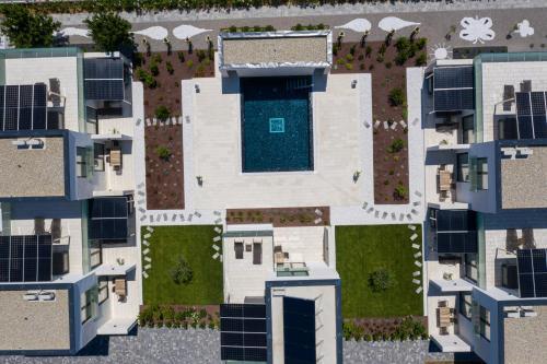 The floor plan of Hotel & Resort ISOLA