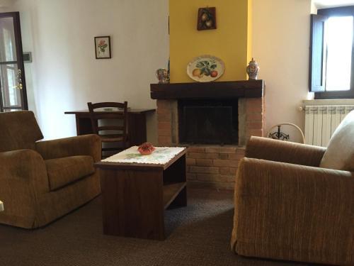 Area soggiorno di Collelungo