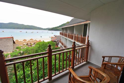 A balcony or terrace at Bubu Resort