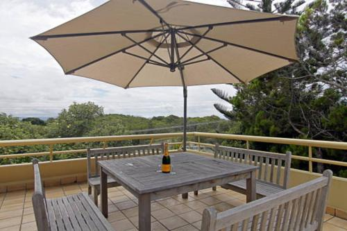 A balcony or terrace at 7/110 Lighthouse Road - Byron Breeze