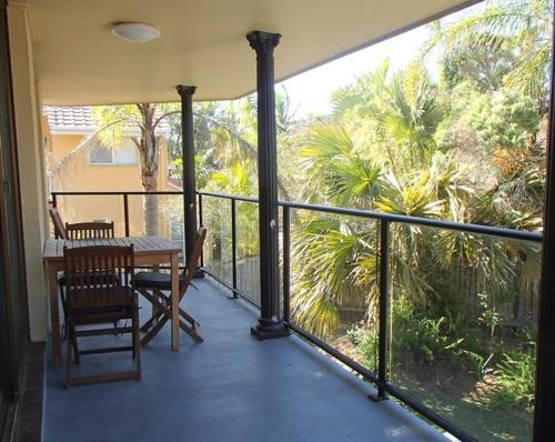 A balcony or terrace at 3/5-9 Somerset Street - Summer Central
