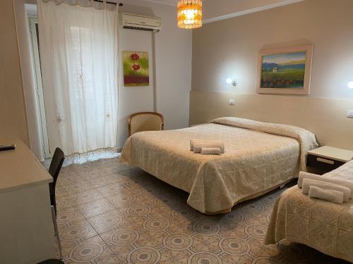 Letto o letti in una camera di Casantica B&B Turismo Rurale