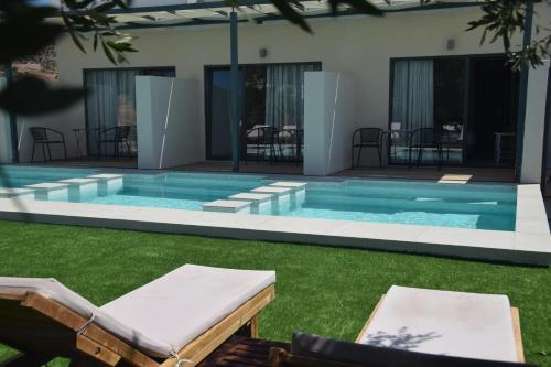The swimming pool at or near Meliti Hotel (Adults Only)
