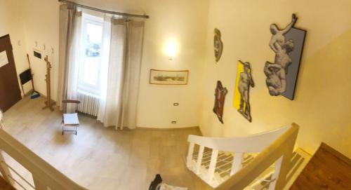 Zona de estar de A Casa Di Olga