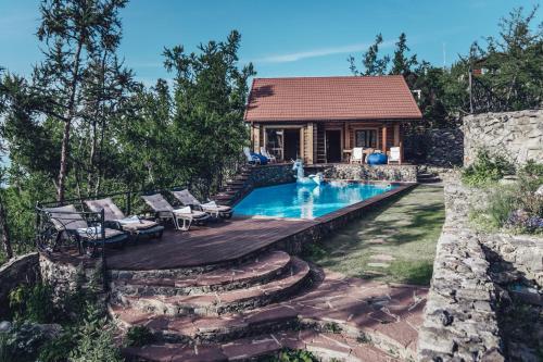 The swimming pool at or close to Villa Baikal Prestige