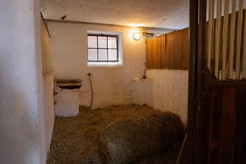 Koupelna v ubytování Penzion Štekrův Mlýn