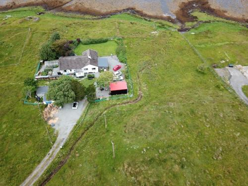A bird's-eye view of Seal Cottage