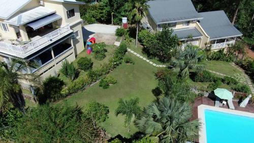 Vue panoramique sur l'établissement Residence Monte-Cristo