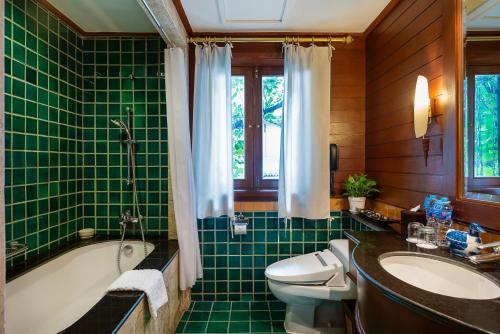 A bathroom at The Davis Bangkok