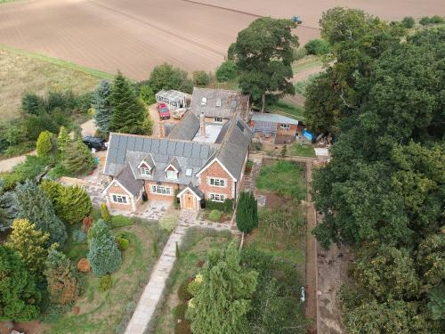 A bird's-eye view of Old School House
