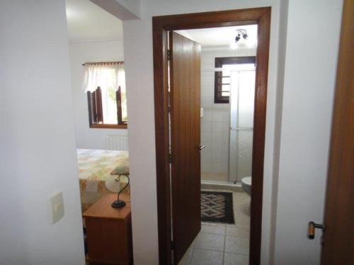 A bathroom at Edifício Máximo masotti