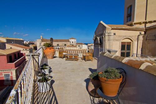 Balcon ou terrasse dans l'établissement La Via della Giudecca