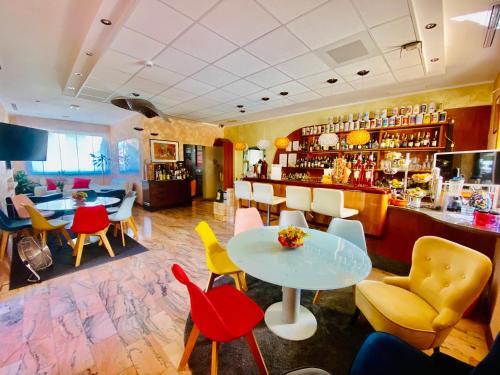 Lounge oder Bar in der Unterkunft Green Park Hotel