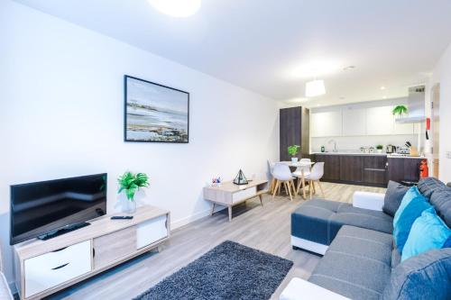 Lux 2-Bedroom apartment with Parking - Manchester City Centre