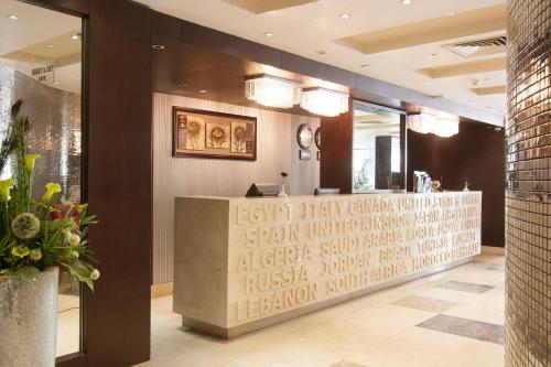 The lobby or reception area at Golden Park Hotel Cairo, Heliopolis