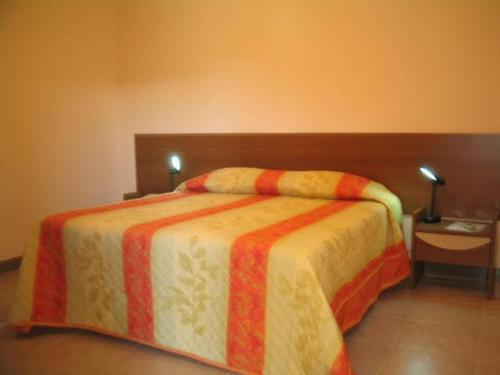 Cama ou camas em um quarto em Cep Lago Hotel Ecológico E Pousada