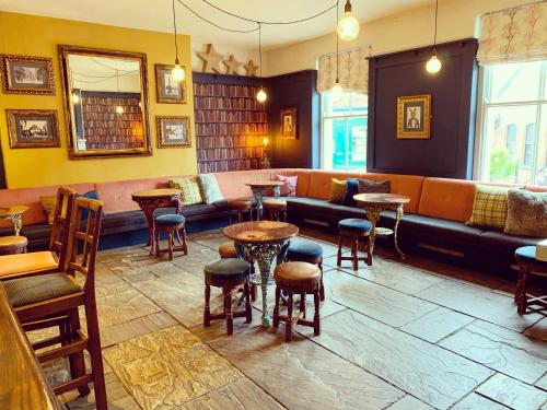 The lounge or bar area at The Royal Oak Ripon