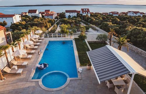A view of the pool at Luxury Apartments White Villa Violeta or nearby