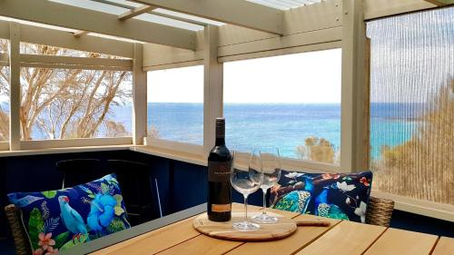 A restaurant or other place to eat at Life-time Private Retreats