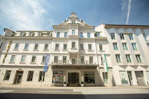 Das Gebäude in dem sich das Hotel befindet
