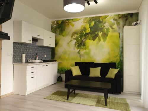 A kitchen or kitchenette at Chopina 29 Sopot Apartments