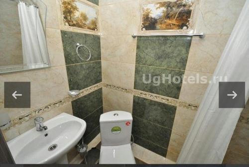 A bathroom at Пальма Витязево