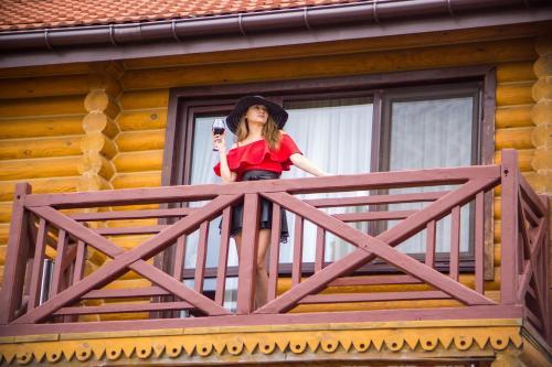 Children staying at Комплекс отдыха Пампушка & Подушка