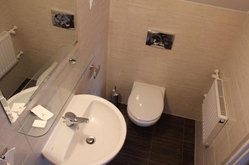 Łazienka w obiekcie Zajazd Podlesie