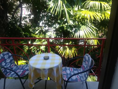 Romantic room with balcony