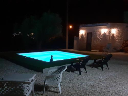 The swimming pool at or near SiCilia B&B
