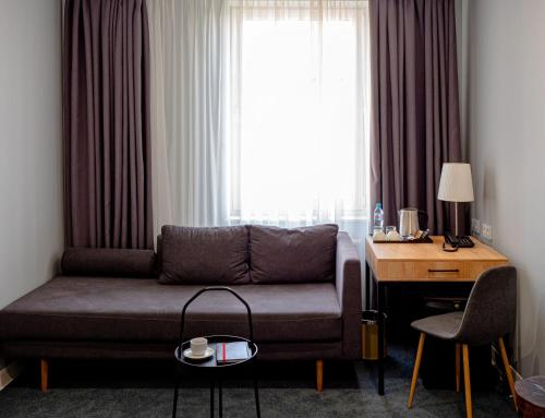 Гостиная зона в БИЗНЕС-ОТЕЛЬ РОССО РИВА