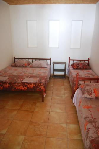 "A bed or beds in a room at ""Счастливый"""