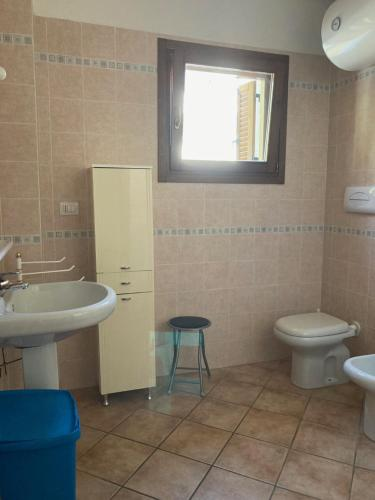 A bathroom at Residence Olimpo apartments