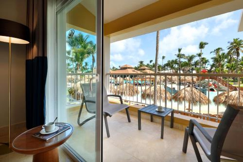 A balcony or terrace at Grand Palladium Punta Cana Resort & Spa - All Inclusive