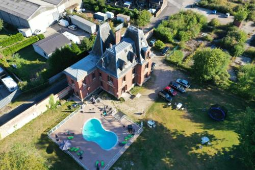 A bird's-eye view of Chateau Gruchet Le Valasse