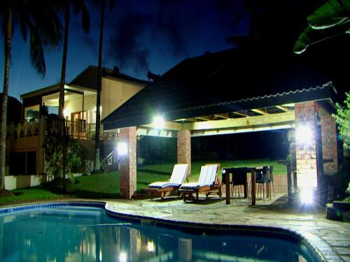 The swimming pool at or near Whalesong Guest House
