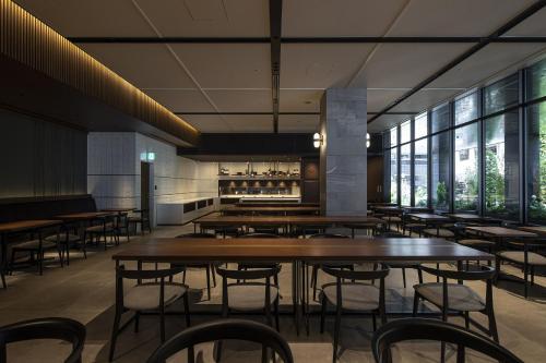The lounge or bar area at Hotel Trad Hakata