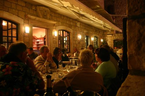A restaurant or other place to eat at Villa Nora Hvar