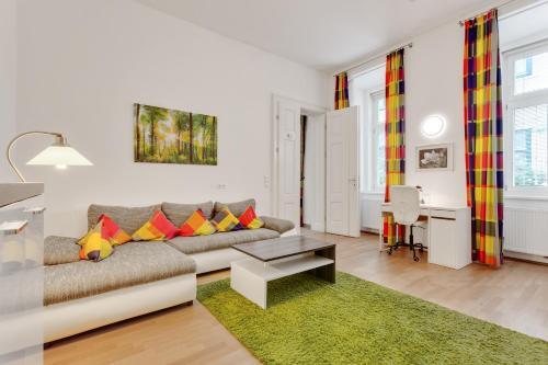 Ein Sitzbereich in der Unterkunft GAL Apartments Vienna