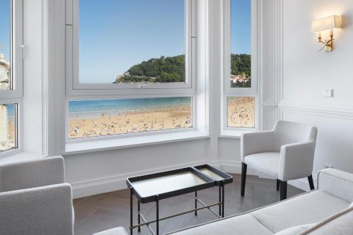 Zona de estar de Hotel Boutique Villa Favorita