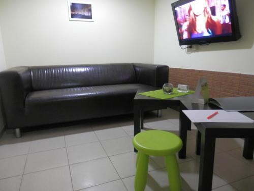 Гостиная зона в Апарт Отель Доброславия