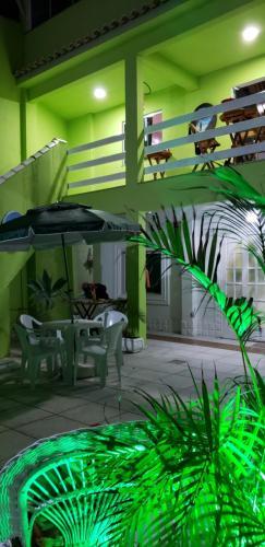 The swimming pool at or close to Pousada Caminho do Pontal