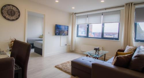 Virexxa Bedford Centre - Supreme Suite - 2Bed Flat with Free Parking & Gym